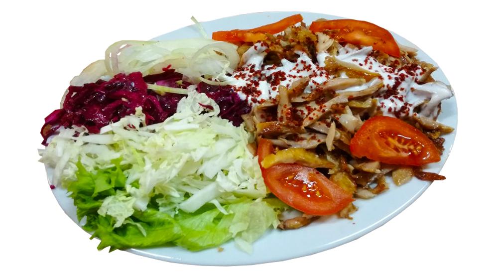 Kebab šalát