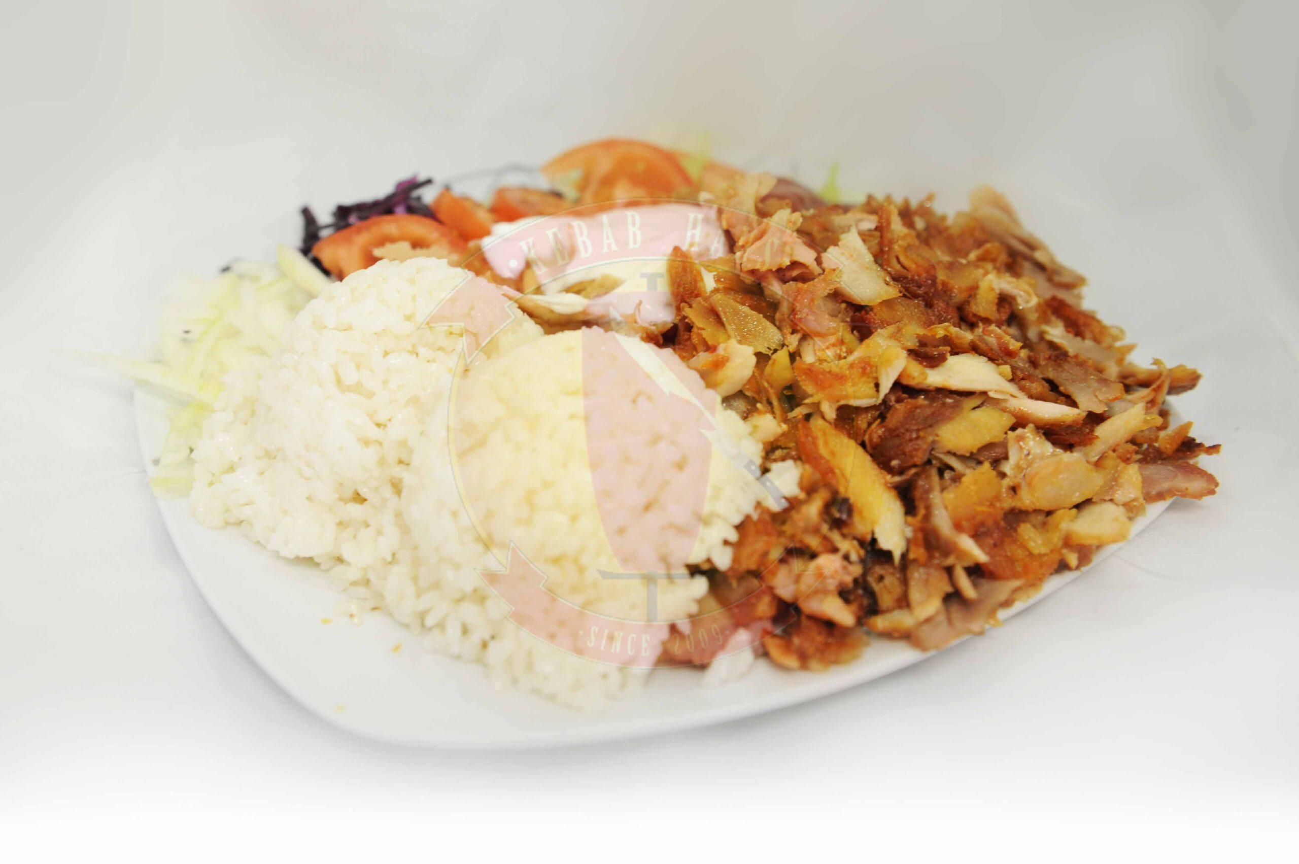 Menu tanier s ryžou